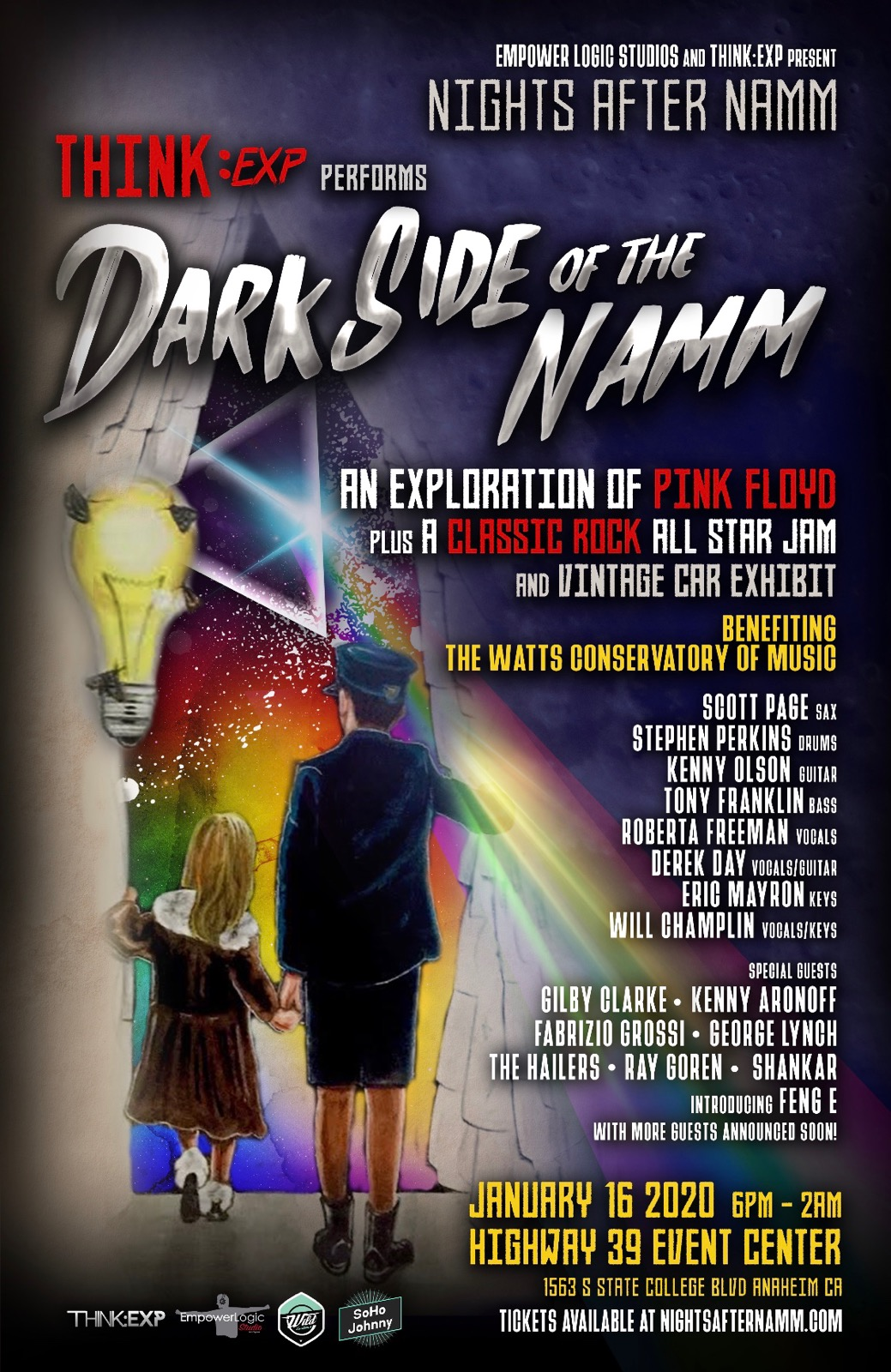 """Nights After NAMM"" Goes To The Dark Side For Charity - The Hollywood Digest"